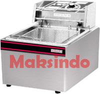 JUAL MESIN deep fryer listrik 8lt maksindo Mesin Deep Fryer (penggoreng) Listrik
