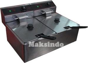 JUAL mesin gas fryer 99 liter maksindo listrik deep fryer2 Mesin Deep Fryer (penggoreng) Listrik