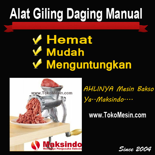 giling daging manual
